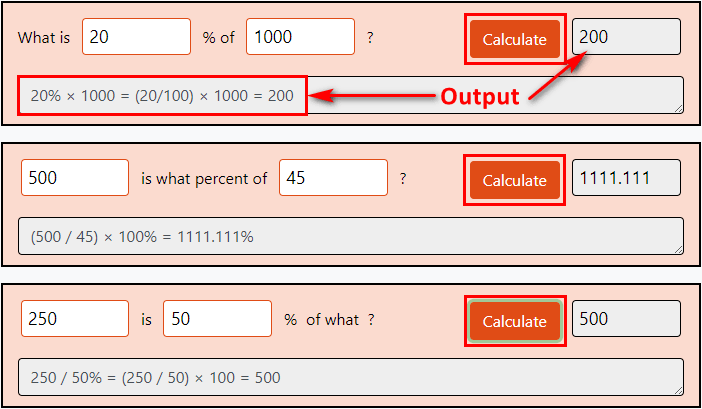 Calculate and Reset